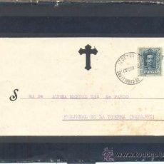 Sellos: 1929.- JEREZ DE LOS CABALLEROS (BADAJOZ) A FREGENAL DE LA SIERRA (BADAJOZ). Lote 30979880