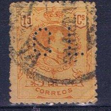 Francobolli: ALFONSO XIII MEDALLON 1909 PERFORADO CL. Lote 31391732