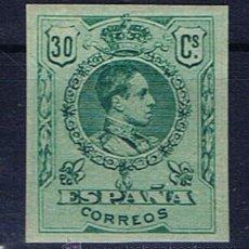 Sellos: ALFONSO XIII MEDALLON 1909 SIN DENTAR NUEVO* EDIFIL 275. Lote 31355623