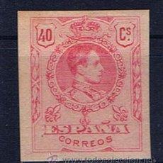 Sellos: ALFONSO XIII MEDALLON 1909 SIN DENTAR NUEVO* EDIFIL 276. Lote 31355637