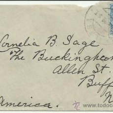 Sellos: MALAGA CC A USA SELLO ALFONSO XIII CADETE . Lote 31919171
