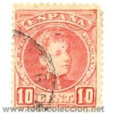 Sellos: 1U-243. SELLO USADO ESPAÑA. EDIFIL Nº 243. ALFONSO XIII (CADETE). Lote 204513980