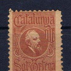 Francobolli: CATALUNYA SOL I ORTEGA NUEVO*. Lote 44202179