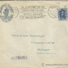 Sellos: MADRID CC SELLO VAQUER ALFONSO XIII 40 CTS MAT RODILLO MUY CLARO . Lote 33351517