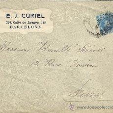 Sellos: BARCELONA CC SELLO ALFONSO XIII CADETE. Lote 33385171