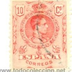Sellos: 1U-269. SELLO USADO ESPAÑA. EDIFIL Nº 269. ALFONSO XIII. Lote 33389121