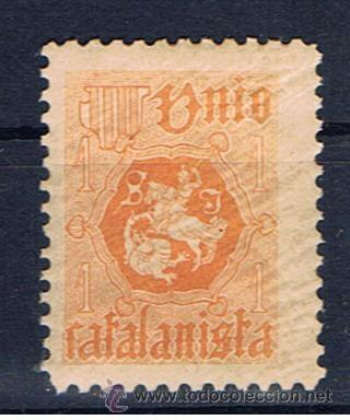 UNIO CATALANISTA NUEVO* (Sellos - España - Alfonso XIII de 1.886 a 1.931 - Nuevos)