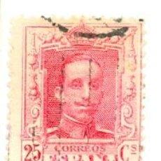 Sellos: 1U-317. SELLO USADO ESPAÑA. ALFONSO XIII. Lote 33868813