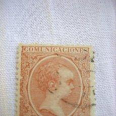 Sellos: EDIFIL 217 ALFONSO XIII TIPO PELON 1889-1899 10 CENTIMOS DE PESETA USADO. Lote 36519929