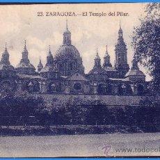 Sellos: 1926 TARJETA POSTAL, ZARAGOZA A BÉLGICA, EDIFIL Nº 317 (ALFONSO XIII). Lote 36232301