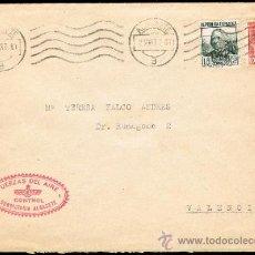 Sellos: ALBACETE - EDI O 268 + 271 - CARTA CIRC. - FECH.