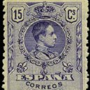 Sellos: 1909.- ALFONSO XIII MEDALLON. 15 CTS. NUEVO. MUY BIEN CENTRADO EDIFIL Nº 270* CATº. +25 €. Lote 38185223