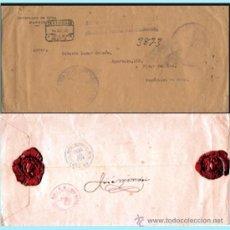 Sellos: 1930.-CERTIFº. CON FRANQUICIA POSTAL PAN-AMERICANA DEL CONSULADO DE CUBA EN MADRID CIRCULADO.. Lote 38195888