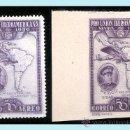 Sellos: 1930.- 50 CTS. EJEMPLARES DENTADO Y SIN DENTAR CON COLOR CAMBIADO.Nº 586CC/CCS** LUJO.. Lote 38197564