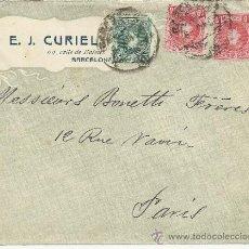 Sellos: BARCELONA CC CON SELLOS ALFONSO XIII CADETE. Lote 38322855