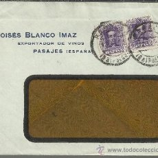 Sellos: CC PASAJES GUIPUZCOA SELLOS ALFONSO XIII VAQUER 20 CTS X 2. Lote 38366415