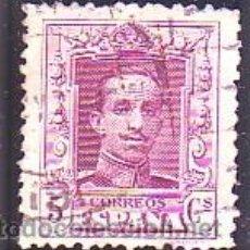 Sellos: 312- ALFONSO XIII VAQUER. 1922-30. 5 C. CARMÍN. USADO LUJO.. Lote 38798973