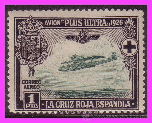 1926 PRO CRUZ ROJA, AÉREOS, EDIFIL Nº 347 * * (Sellos - España - Alfonso XIII de 1.886 a 1.931 - Nuevos)