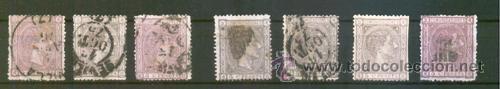 EDIFIL 163 */US ALFONSO XII (Sellos - España - Alfonso XIII de 1.886 a 1.931 - Usados)