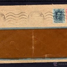 Sellos: ISIDORO RIES VALENCIA CARTA 1925, SELLOS EDIFIL 315, 317, 15 Y 25 CTS, ALFONSO XIII TIPO VAQUER. Lote 39766530