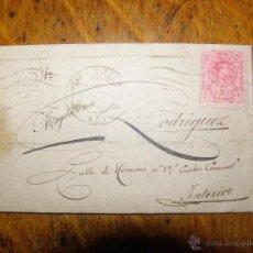 Sellos: BONITA CARTA HECHA ARTE DE 1921. Lote 40154359