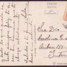Sellos: ESPAÑA. (CAT. 269). 1916. T. P. DE CORREO INTERIOR DE BARCELONA.10 CTS. FRAUDE POSTAL. MUY RARA.. Lote 26147739