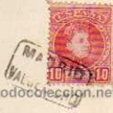 Sellos: CARTERIA MADRID VALDEMORILLO, SOBRE TARJETA POSTAL DE NAVIDAD. . Lote 40349558