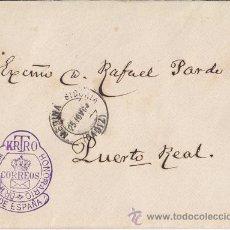 Sellos: SOBRE CON FRANQUICIA DEL DOCTOR THEBUSSEM. MEDINA SIDONIA (CÁDIZ) RARA. Lote 40504320