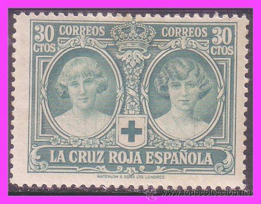 1926 CRUZ ROJA ESPAÑOLA, EDIFIL Nº 332 * (Sellos - España - Alfonso XIII de 1.886 a 1.931 - Nuevos)