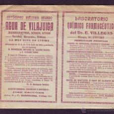 Sellos: ESPAÑA.(CAT.270).1915. SOBRE DE PUBLICIDAD DEL *TEMA MEDICINA* DE BARCELONA. MAGNÍFICA Y RARA.. Lote 24517299
