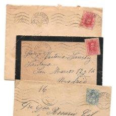 Sellos: LOTE 3 CARTAS CIRCULADAS DE ALICANTE A MADRID AÑOS 1923 Y 1925 (2). Lote 40779849