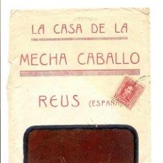 Sellos: REUS (TARRAGONA) - LA CASA DE LA MECHA CABALLO -CIRCULADA AÑO ?. Lote 41057838