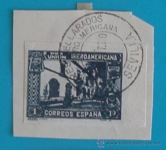 Sellos: SELLOS PRO UNION IBEROAMERICANA SIN DENTAR 1930 CIRCULADOS - Foto 2 - 41123255