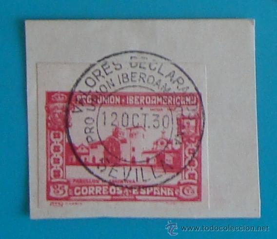 Sellos: SELLOS PRO UNION IBEROAMERICANA SIN DENTAR 1930 CIRCULADOS - Foto 5 - 41123255