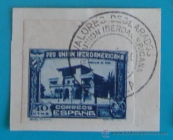 Sellos: SELLOS PRO UNION IBEROAMERICANA SIN DENTAR 1930 CIRCULADOS - Foto 6 - 41123255
