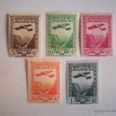 Sellos: SERIE AEREA DE MONTSERRAT DEL AÑO 1931 ED 650/54 EN NUEVO**. Lote 41288979