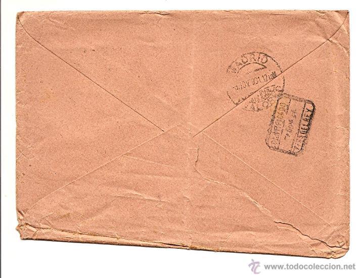 Sellos: CARTA CIRCULADA AÑO 1931 DEL BANCO URQUIJO VASCONGADO SUCURSAL DE CERVERA DEL PISUERGA (PALENCIA) - Foto 2 - 41294692
