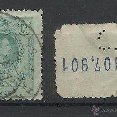 Timbres: ALFONSO XIII MEDALLON PERFORADO CL . Lote 41375514