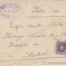 Sellos: SOBRE CON CARTERIA SALAMANCA ESPEJA. AÑO 1902. LUJO. AL DORSO LLEGADA. Lote 41416732