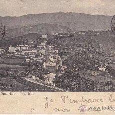 Sellos: PAQUEBOTE. SOUTHAMPTON. BONITA POSTAL. GRAN CANARIA. TAFIRA 1910. Lote 41617869
