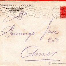 Sellos: . CARTA SUCESORES DE J.COLLELL BARCELONA . Lote 43661932