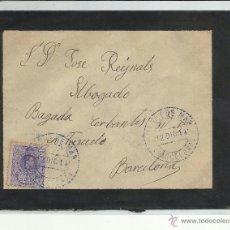 Sellos: CIRCULADA 1916 DE ARENYS DE MAR A BARCELONA VER FOTO. Lote 44649653