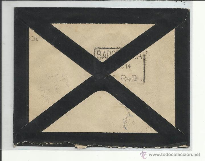 Sellos: circulada 1916 de arenys de mar a barcelona ver foto - Foto 2 - 44649653