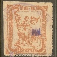 Sellos: FISCALES - MADRID TIMBRE MUNICIPAL 1895-96. Lote 44952263