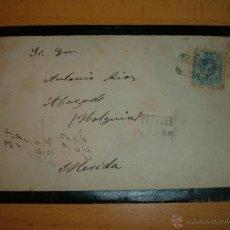 Sellos: ANTIGUA CARTA CON SELLO DE ALFONSO XIII, 1923. Lote 44991153