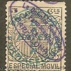 Sellos: FISCALES - TIMBRE ESPECIAL MÓVIL PUBLICITARIO. BAYER. 1923/30. Lote 44994617