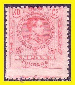 1909 ALFONSO XIII, EDIFIL Nº 276 * (Sellos - España - Alfonso XIII de 1.886 a 1.931 - Nuevos)