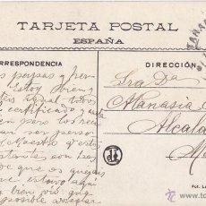 Sellos: POSTAL CIRCULADA DE TARANCÓN. CUENCA. 1909 CON SELLO DE CADETE.. Lote 45404869