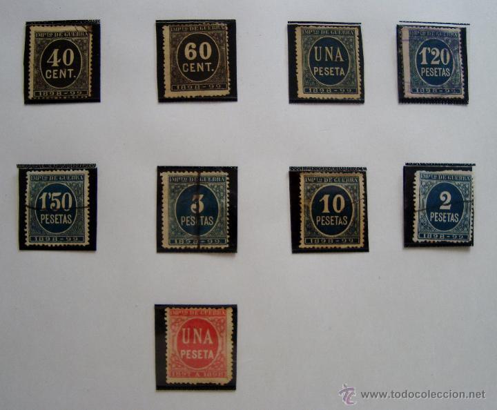 Sellos: CIFRAS LOTE DE SELLOS AÑOS 1897 Y 1898 NUEVOS Y USADOS - Foto 3 - 45690143