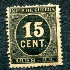 Sellos: EDIFIL 238. 15 CTS CIFRAS EN NEGRO. NUEVO SIN GOMA. Lote 45975599